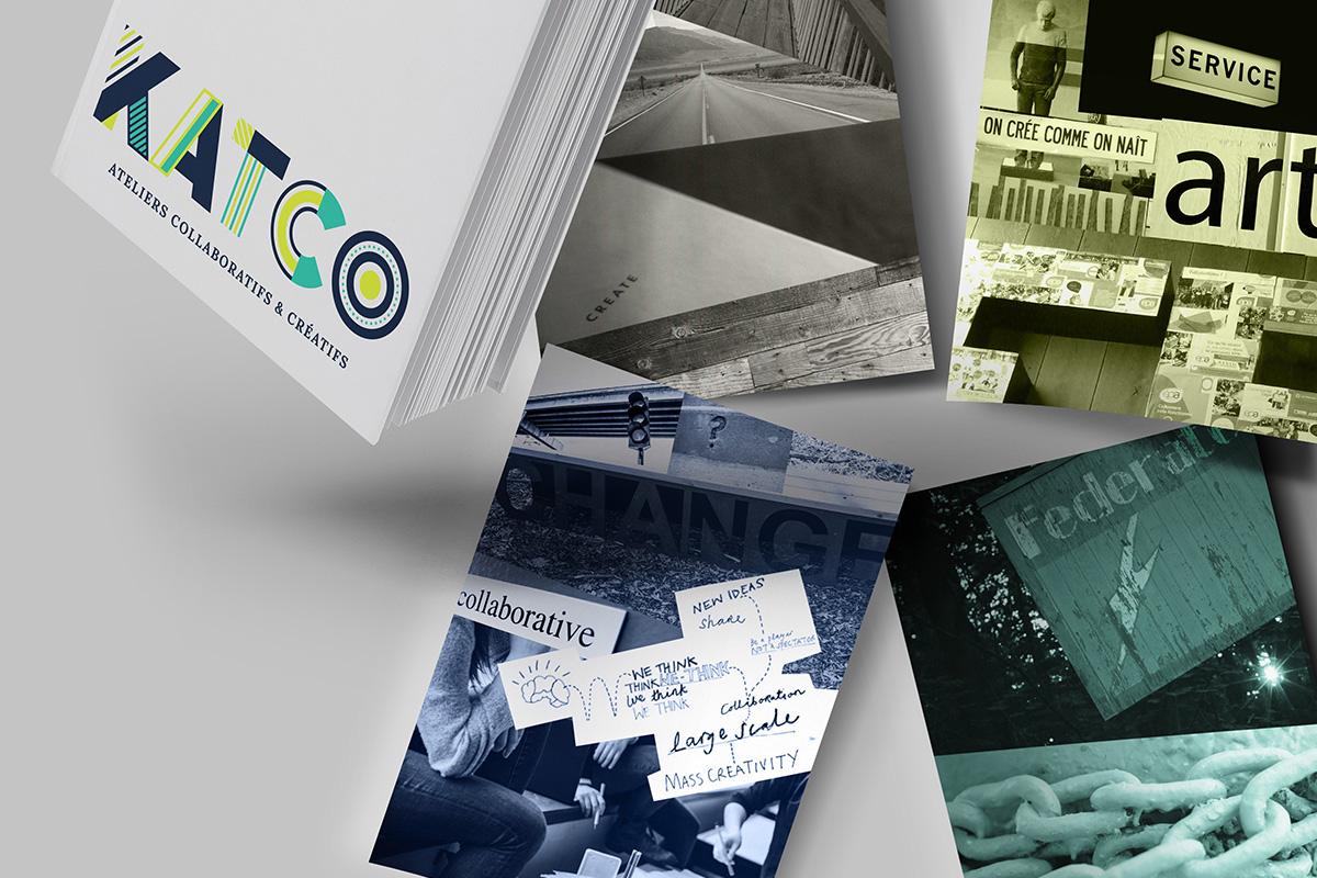 Katco Atelier Collaboratif Créatif Teambuilding Cohésion Equipe Collage Prestation artistique